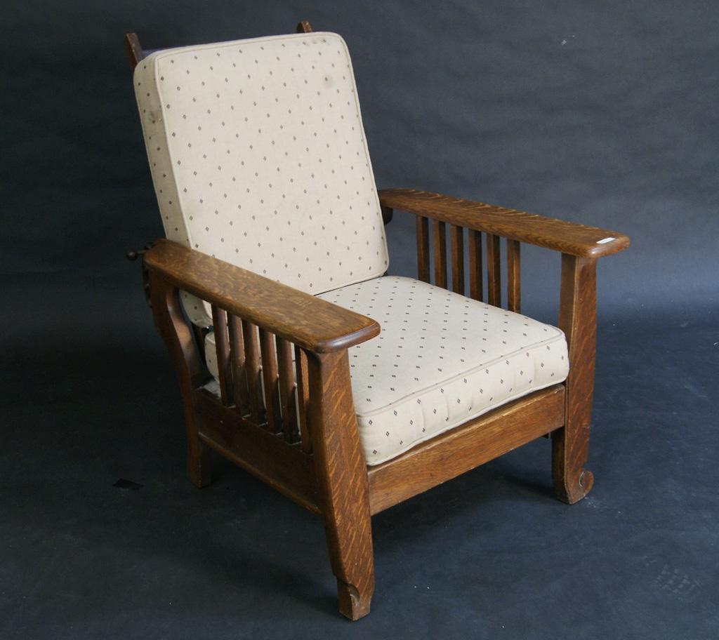 Antique morris chair - Antique Morris Chair 25