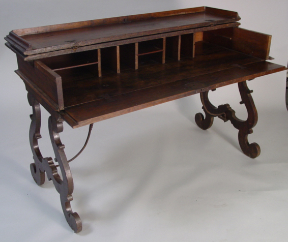Spanish Colonial Fold Open Writing Desk