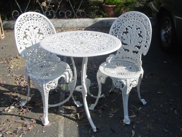 Cool Aluminum Garden Table Chairs Uwap Interior Chair Design Uwaporg